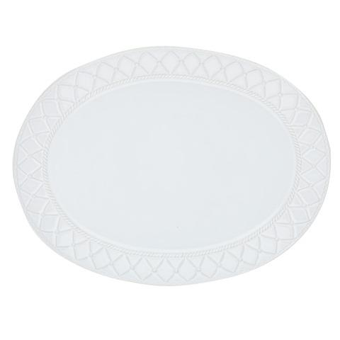 Skyros Designs  Alegria - Simply White Large Oval Platter $83.00
