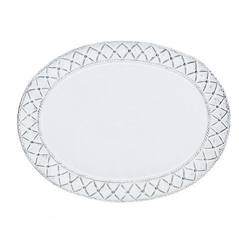 Skyros Designs  Alegria - Silver Large Oval Platter $88.00