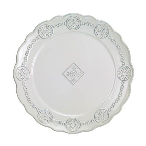 Skyros Designs  Villa Beleza - Vintage White Charger $62.00