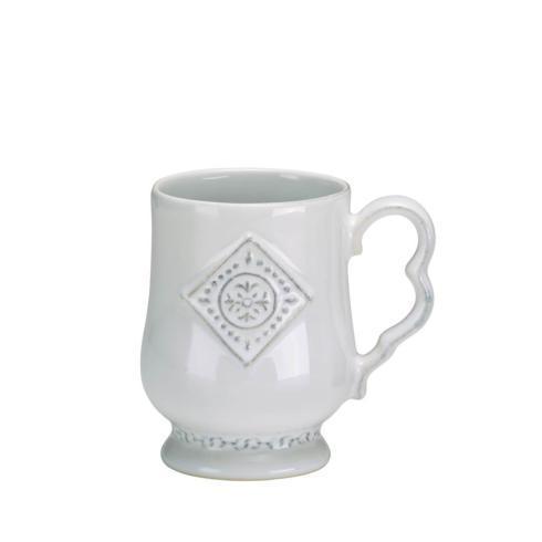 Skyros Designs  Villa Beleza - Vintage White Mug $33.00