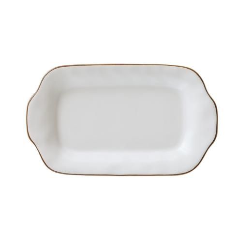 Skyros Designs  Cantaria - Matte White Butter/Sauce Server Tray $23.00