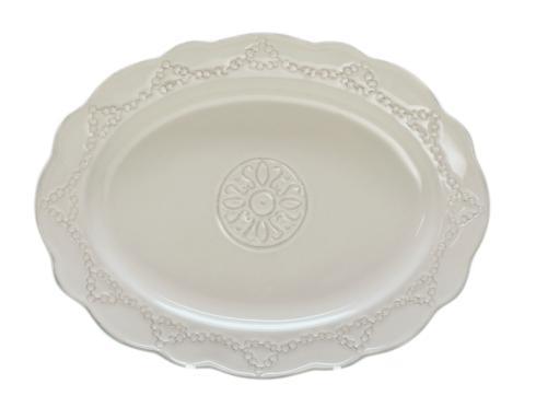 Skyros Designs  Villa Beleza - Alabaster Oval Platter $86.00