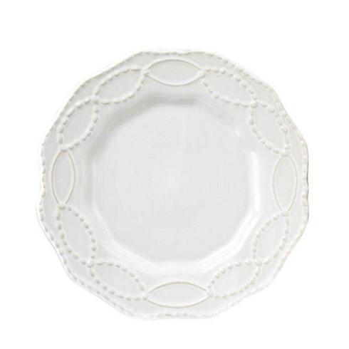 Skyros Designs  Legado White Salad Plate - Plain $32.00