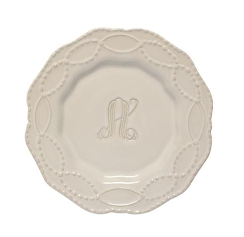 Skyros Designs  Legado - Pebble Engraved Salad Plate $38.00