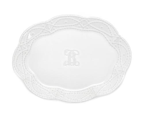 Platter - Engraved F