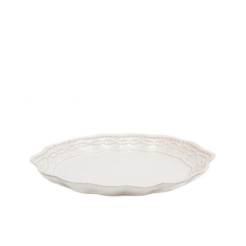 Skyros Designs  Legado White Small Oval Platter $42.00