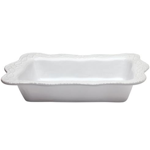 Skyros Designs  Legado White Rectangular Baker $70.00