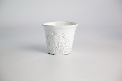 Skyros Designs  Floral Lace Small Planter $15.75