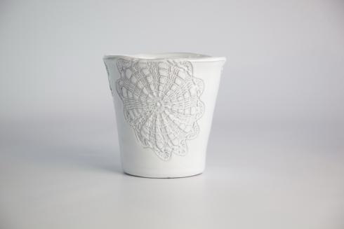 Skyros Designs  Floral Lace Medium Planter $27.00