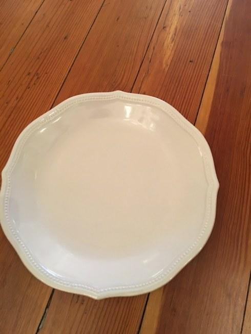 Lenox   French Perle dinner plate $24.00