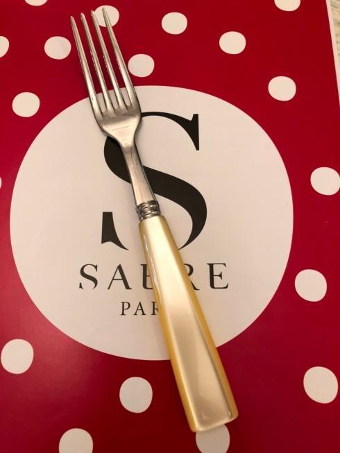 $18.00 Natura pearl dinner fork