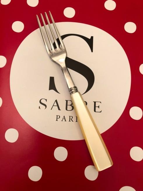 $18.00 Natura Pearl salad fork