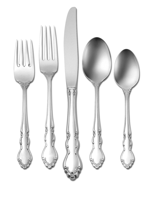 Dover five piece place setting