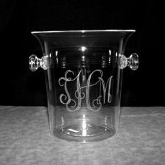 $40.00 Acrylic Ice Bucket