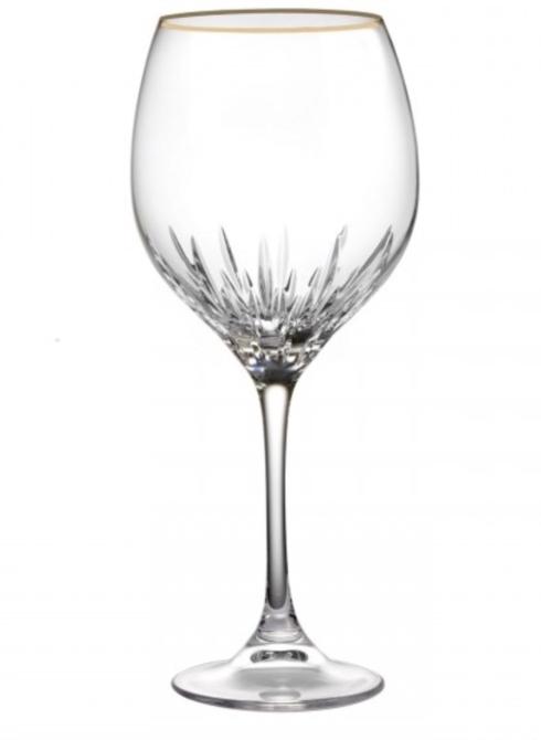 Duchesse Gold Red Wine Goblet