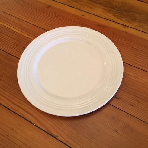 $17.95 Tin Can Alley salad plate