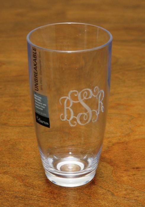 $16.00 Acrylic High Ball Glasses 16oz.