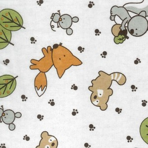 FRIENDLY FOREST ANIMALS SWADDLE collection with 1 products