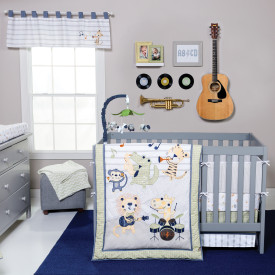 SAFARI ROCK BAND 6 PC BEDDING SET collection with 1 products