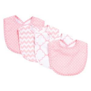 PINK SKY 4 PACK BIB SET collection with 1 products