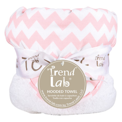 PINK SKY CHEVRON HOODED TOWEL collection with 1 products