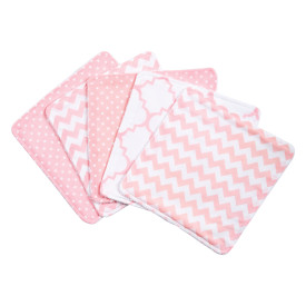 PINK SKY 5 PACK WASH CLOTH SET collection with 1 products