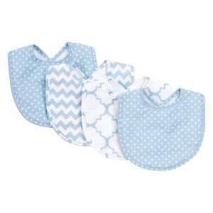 $17.95 BLUE SKY 4 PACK BIB SET