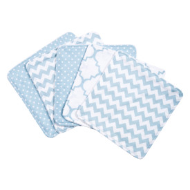 BLUE SKY 5 PACK WASH CLOTH SET collection with 1 products