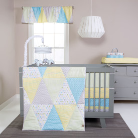 TRIANGLES 3 PC BEDDING SET collection with 1 products