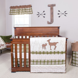 $90.91 DEER LODGE 3 PC BEDDING SET