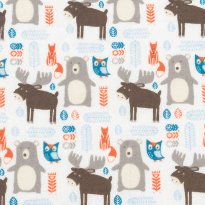 FOREST ANIMALS SWADDLE BLANKET collection with 1 products