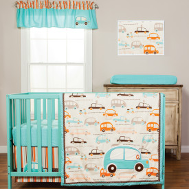 VROOM LA LA 3 PC BEDDING SET collection with 1 products