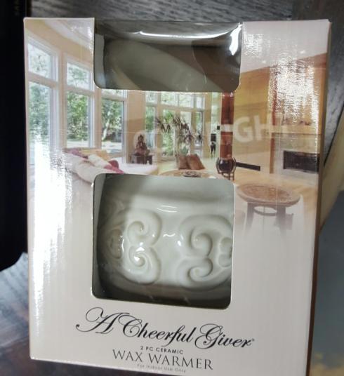 $21.95 A cheerful giver wax warmer