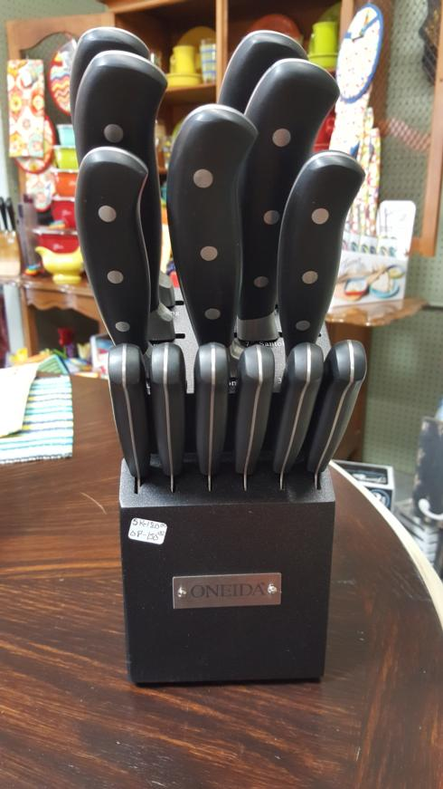 $150.00 14 knife set with block