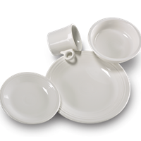 $56.00 4pc place setting white