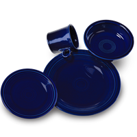 $56.00 4pc place setting cobalt