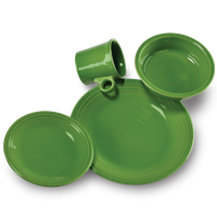 $56.00 4 pc place setting shamrock