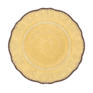 ANTIQUA SALAD PLATE MUSTARD collection with 1 products