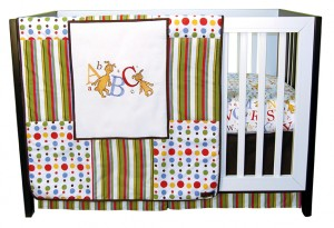 $105.45 ABC 3 PC BEDDING SET