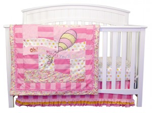 OH, THE PLACES YOU'LL GO! PINK 3 PC BEDDING SET collection with 1 products