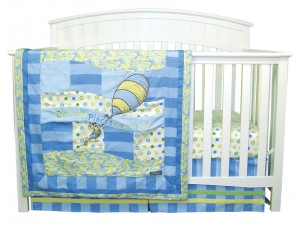 OH, THE PLACES YOU'LL GO! BLUE 3 PC BEDDING SET collection with 1 products