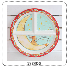 SECTIONED PLATE WISH UPON A STAR collection with 1 products