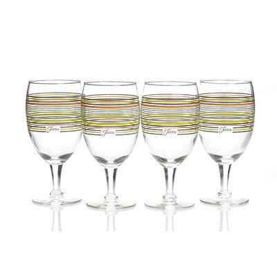 $10.00 STRIPES GOBLET