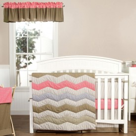 COCOA CORAL 3 PC BEDDING SET collection with 1 products