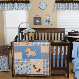 $96.36 COWBOY BABY 3 PC BEDDING SET