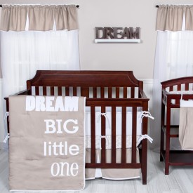 DREAM BIG LITTLE ONE 3 PC BEDDING SET collection with 1 products