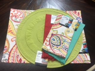 $12.00 Assorted Fiesta placemats