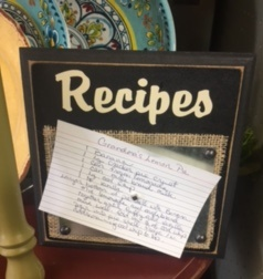Special Moments Exclusives   RECIPE HOLDER WITH MAG $16.95