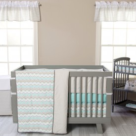 SEASHORE WAVES 3 PIECE CRIB SET collection with 1 products