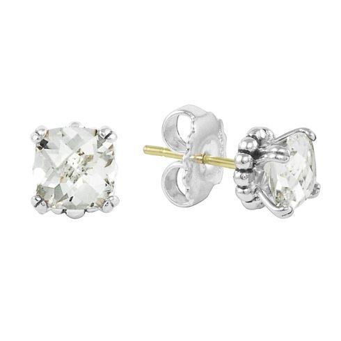 White Topaz Earrings